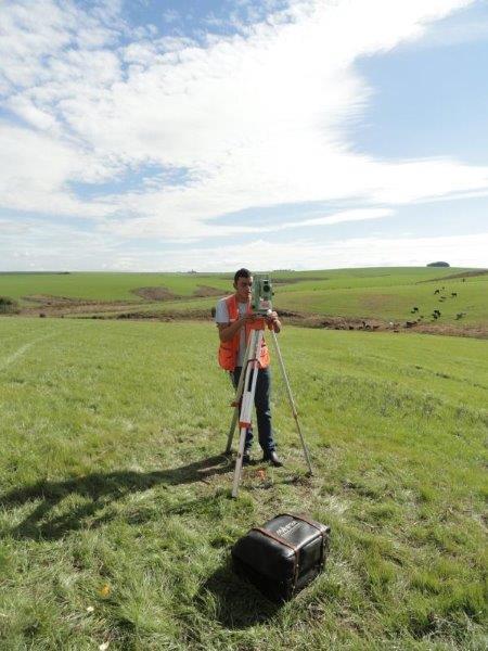 Medição de areas rurais